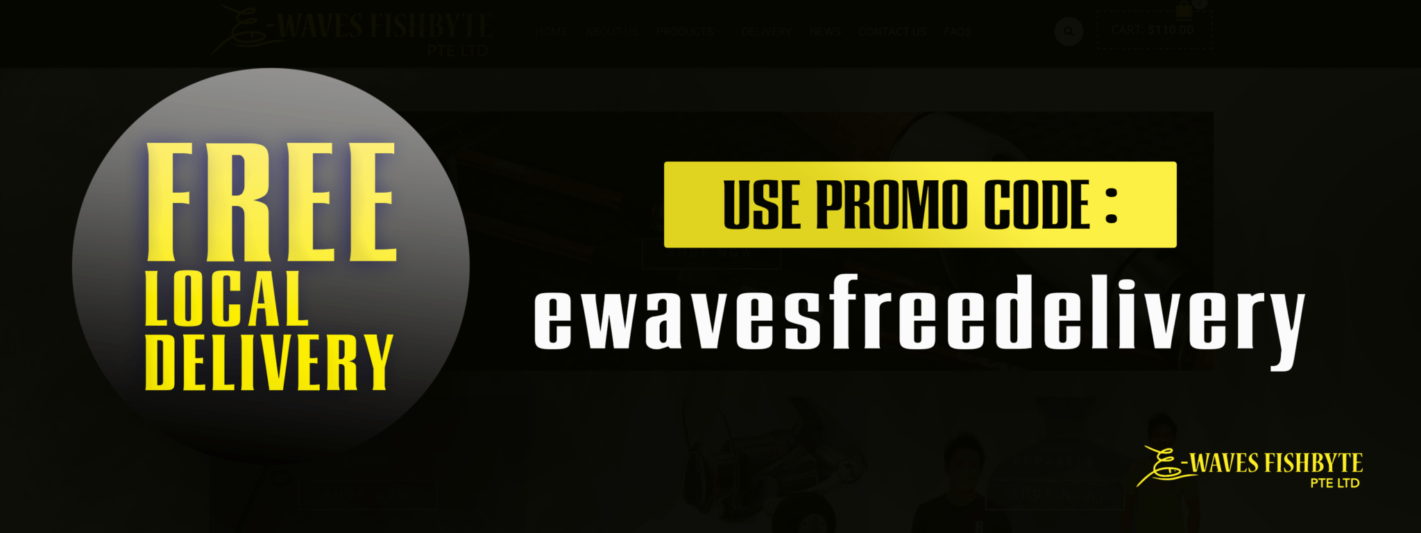 EWAVES FREE LOCAL DELIVERY